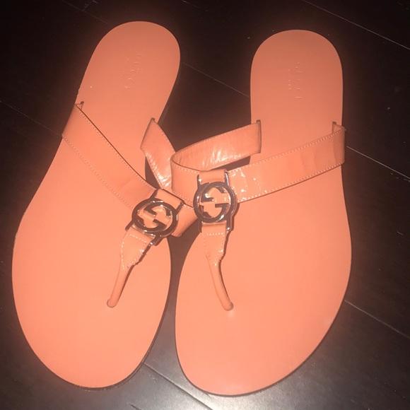 Gucci Shoes - Gucci flip flops